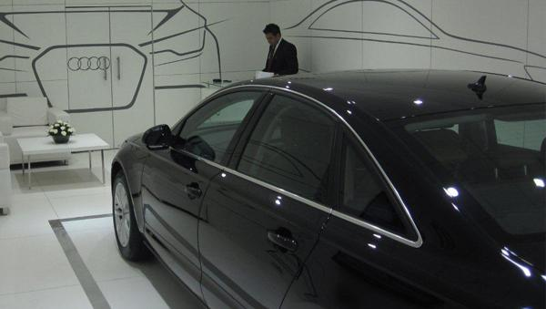 Sneak and Preview Audi A4