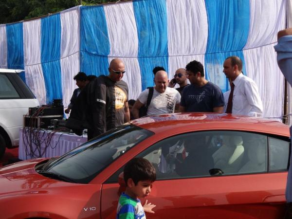 Audi Gurgaon Event of 2012 August TDI Power Drive Contest