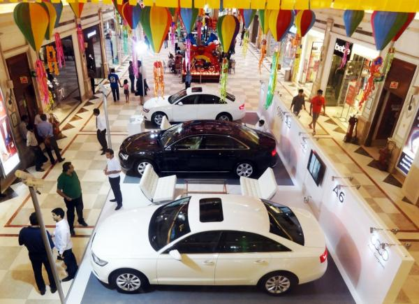 Car Display at DLF Promenade