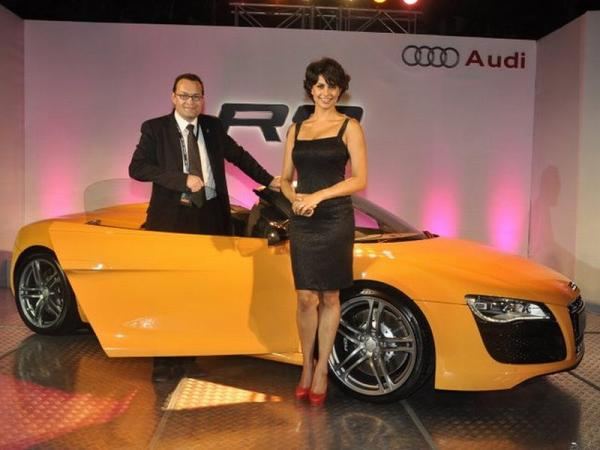Launch of New Audi R8