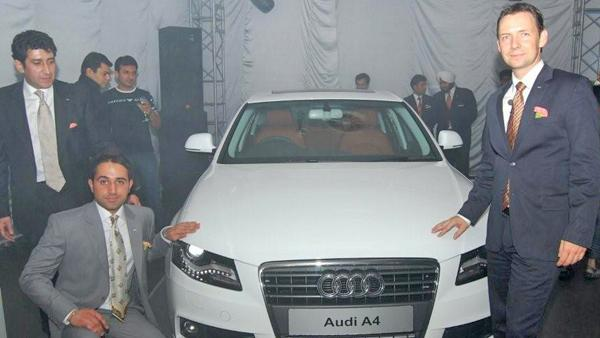 Audi Gurgaon Event of Audi A4
