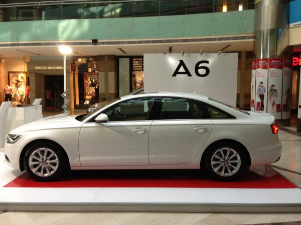 Car Displays Event at Ambience Mall