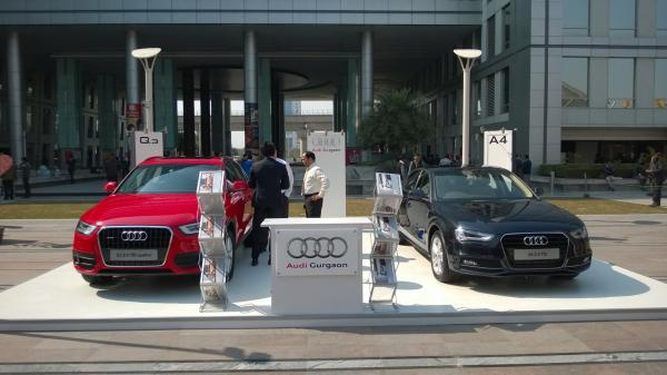 Car Display at DLF Cyber Hub Gurgaon