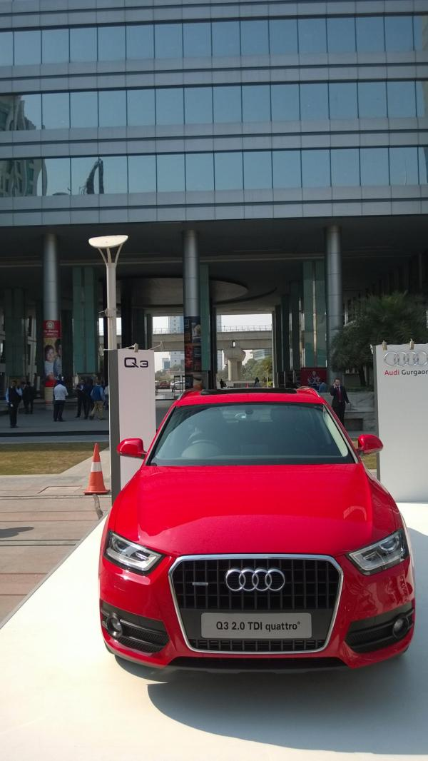 Car Display at DLF Cyber Hub 13-14 Feb 2014