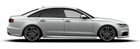 Audi A6 Saloon Side