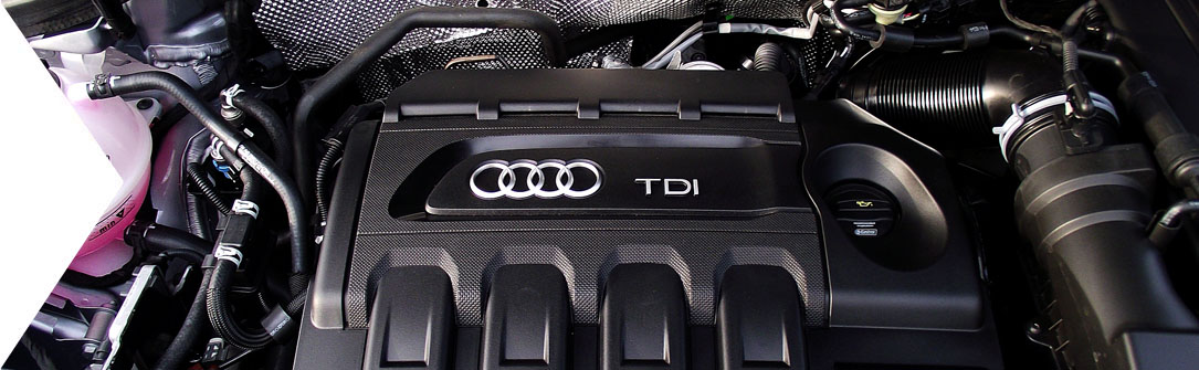 Audi Q3 TDI Engine
